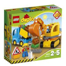 LEGO® DUPLO® - Teherautó és lánctalpas exkavátor (10812)