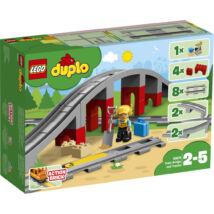 LEGO® DUPLO® - Vasúti híd és sínek (10872)