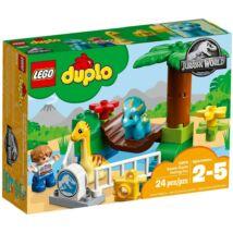 LEGO® DUPLO® - Szelíd óriások állatkerti simogatója (10879)