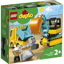LEGO® DUPLO® - Teherautó és lánctalpas exkavátor (10931)