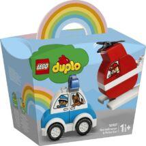 LEGO® DUPLO® - Tűzoltó helikopter és rendőrautó (10957)