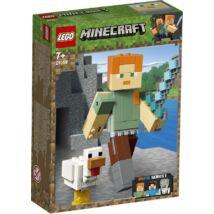 LEGO® Minecraft - Minecraft™ BigFig Alex csirkével (21149)
