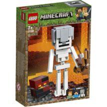 LEGO® Minecraft - Minecraft™ BigFig Csontváz magmakockával (21150)