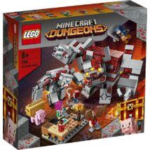 LEGO® Minecraft - A vöröskő csata (21163)