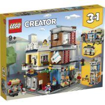 LEGO® Creator - Városi kisállat kereskedés és kávézó (31097)