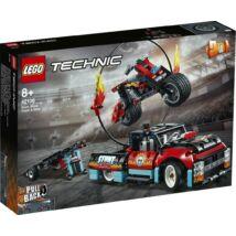 LEGO® Technic - Kaszkadőr teherautó és motor (42106)
