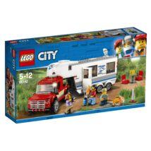 LEGO® City - Furgon és lakókocsi (60182)