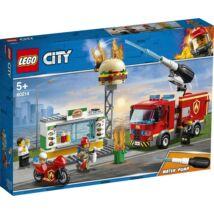 LEGO® City - Tűzoltás a hamburgeresnél (60214)