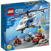LEGO® City - Rendőrségi helikopteres üldözés (60243)