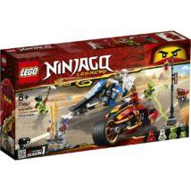 LEGO® Ninjago™ - Kai Pengés Motorja és Zane motoros szánja (70667)