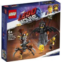 LEGO® Movie - Harcra kész Batman és Fémszakáll (70836)