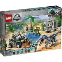 LEGO® Jurassic World™ - Baryonyx bonyodalom: A kincsvadászat (75935)