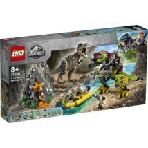 LEGO® Jurassic World™ - T. rex és Dino-Mech csatája (75938)