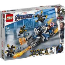 LEGO® Super Heroes - Amerika Kapitány Outrider (76123)