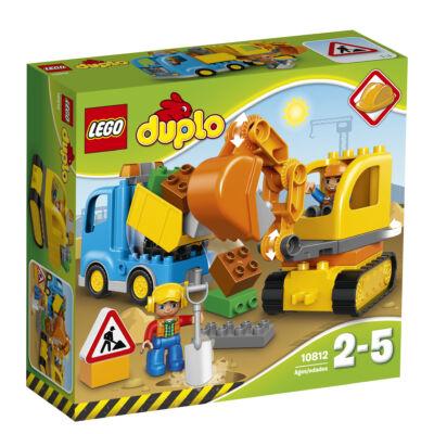 LEGO® DUPLO® - Teherautó és lánctalpas exkavátor
