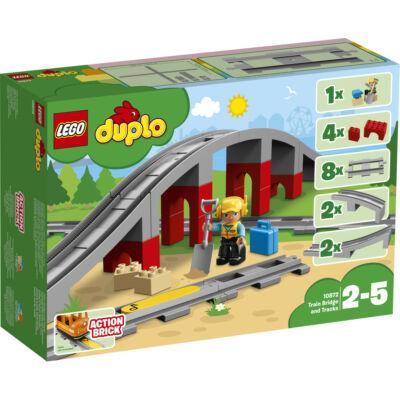 LEGO® DUPLO® - Vasúti híd és sínek