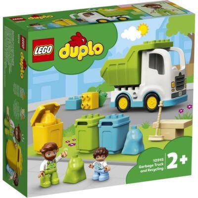LEGO® DUPLO® - Szemeteskocsi és újrahasznosítás (10945)