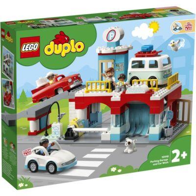 LEGO® DUPLO® - Parkolóház és autómosó (10948)