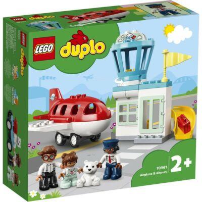 LEGO® DUPLO® - Repülőgép és repülőtér (10961)
