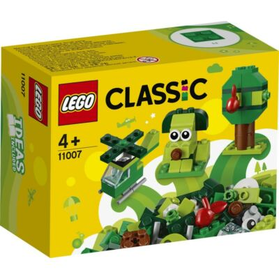 LEGO® Classic - Kreatív zöld kockák (11007)