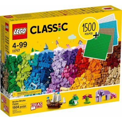 LEGO® Classic - Elemek, elemek, lapok (11717)