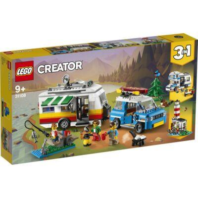 LEGO® Creator - Családi vakáció lakókocsival (31108)