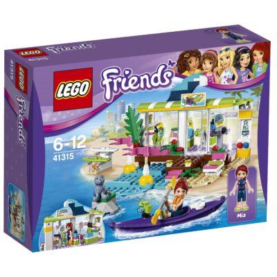 LEGO® Friends - Heartlake-i szörfkereskedés