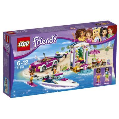 LEGO® Friends - Andrea versenymotorcsónak szállítója