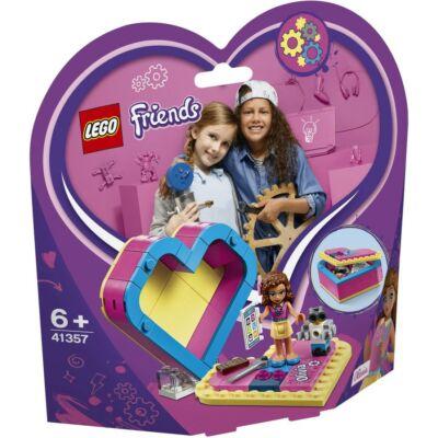 LEGO® Friends - Olivia Szív alakú doboza (41357)