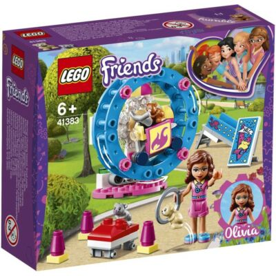 LEGO® Friends - Olivia hörcsögjátszótere (41383)
