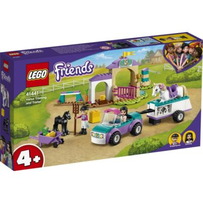 LEGO® Friends - Lovasiskola és utánfutó (41441)