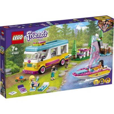 LEGO® Friends - Erdei lakóautó és vitorlás (41681)
