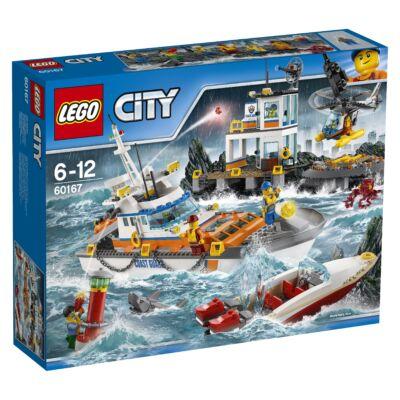 LEGO® City - A parti őrség főhadiszállása