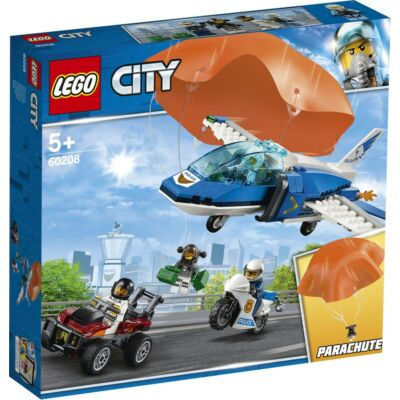 LEGO® City - Légi rendőrségi ejtőernyős letartóztatás (60208)