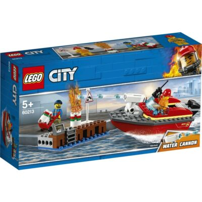 LEGO® City - Tűz a dokknál (60213)