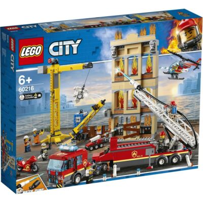 LEGO® City - Belvárosi tűzoltóság (60216)