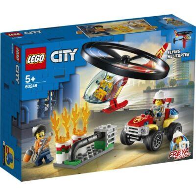 LEGO® City - Sürgősségi tűzoltó helikopter (60248)