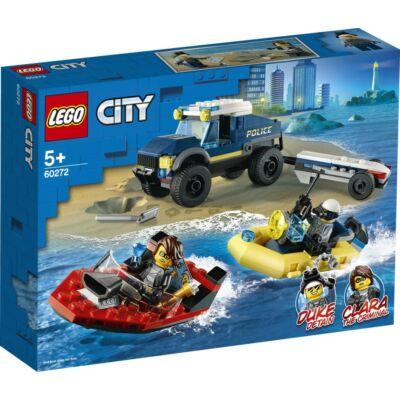 LEGO® City - Elit Rendőrség Hajószállító (60272)