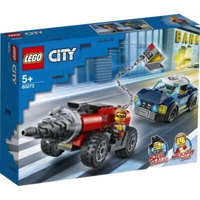 LEGO® City - Elit Rendőrség Fúrógépes üldözés (60273)