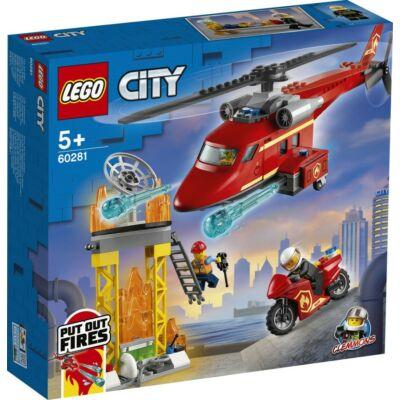 LEGO® City - Tűzoltó mentőhelikopter (60281)