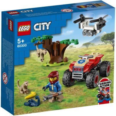 LEGO® City - Vadvilág ATV mentőjármű (60300)