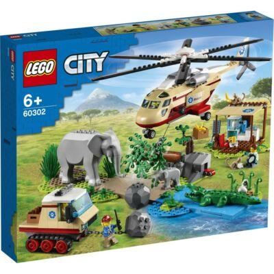 LEGO® City - Vadvilág mentési művelet (60302)