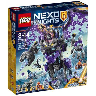 LEGO® A teljes rombolás kőkolosszusa