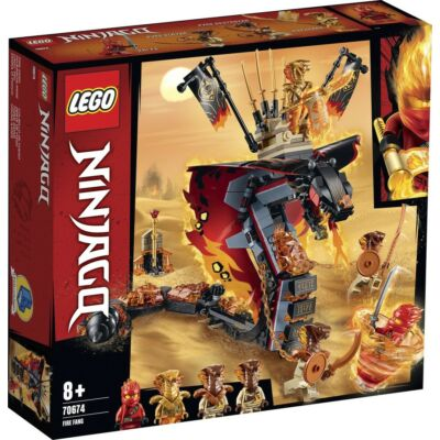 LEGO® Ninjago - Tüzes Agyar (70674)