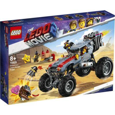 LEGO® Movie - Emmet és Lucy menekülő homokfutója! (70829)