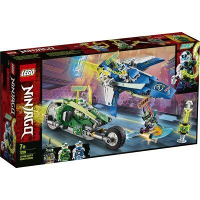 LEGO® Ninjago - Jay és Lloyd versenyjárművei (71709)