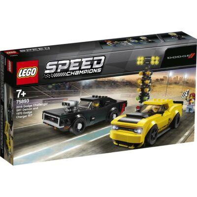 LEGO® Speed Champions - 2018 Dodge Challenger SRT Demon és 1970 Dodge Charger R/T (75893)