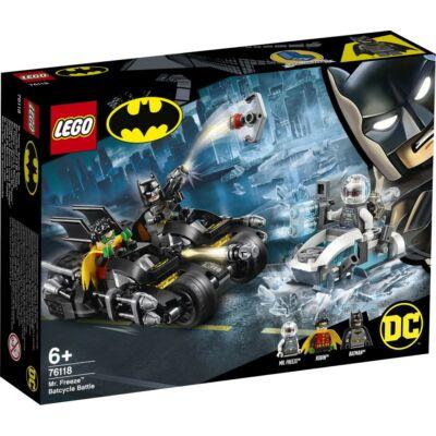 LEGO® Super Heroes - Mr. Freeze™ Batmotoros csata (76118)