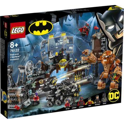 LEGO® Super Heroes - Agyagpofa támadása a Denevérbarlangban (76122)