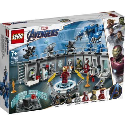 LEGO® Super Heroes - Vasember Páncélcsarnoka (76125)